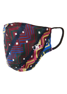 Missoni Zigzag Print Silk Adult Face Mask