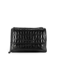 Miu Miu Chevron-Quilted Leather Shoulder Bag