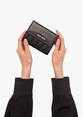 Miu Miu matelassé logo wallet