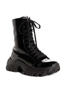 Miu Miu Platform Combat Boot (Women)