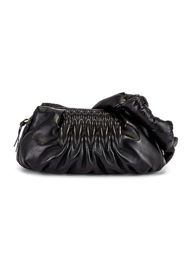 Miu Miu Ruched Shoulder Bag