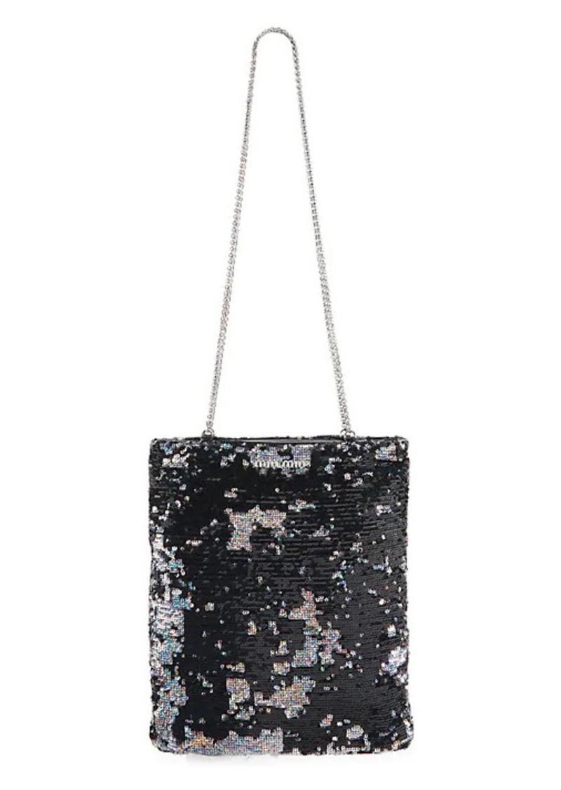 Miu Miu Sequin Chain Shoulder Bag