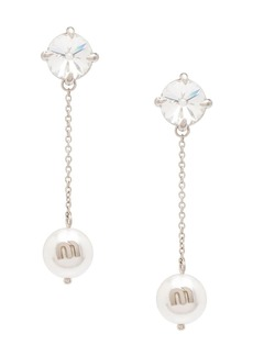 Miu Miu Solitaire Jewels earrings
