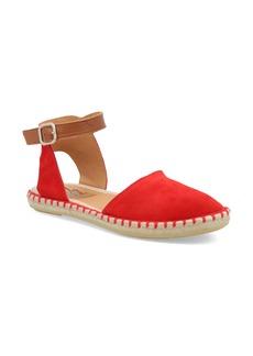 Miz Mooz Cleo Ankle Strap Espadrille Flat (Women)