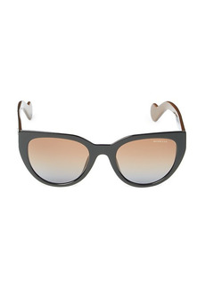 Moncler 50MM Round Sunglasses