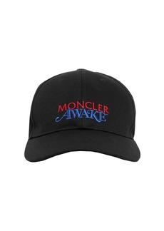 Moncler Awake Nyc Cotton Logo Cap