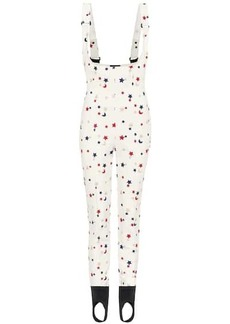 3 Moncler Grenoble embroidered ski jumpsuit