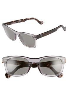 Moncler 54mm Rectangular Sunglasses