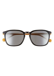 Moncler 56mm Square Sunglasses