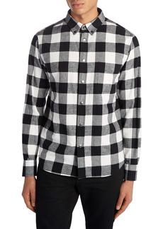 Moncler Buffalo Check Flannel Shirt