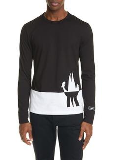 Moncler Colorblock Long Sleeve T-Shirt