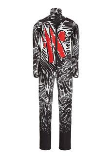 Moncler Genius - Women's Tuta Printed Ski-Suit - Black - Moda Operandi