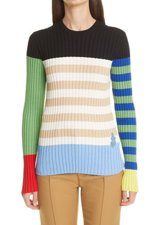 Moncler Genius 1 Moncler JW Anderson Colorblock Rib Sweater