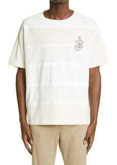Moncler Genius 1 Moncler JW Anderson Stripe T-Shirt