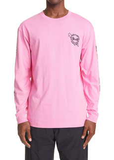 Moncler Genius x Undefeated Men's Long Sleeve Graphic Tee