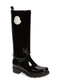 Moncler Ginger Waterproof Knee High Rain Boot (Women)