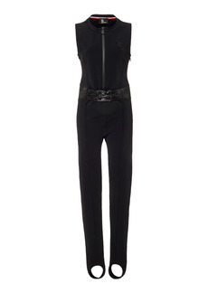 Moncler Grenoble - Women's Stretch-Twill Stirrup Ski Suit - Black - Moda Operandi