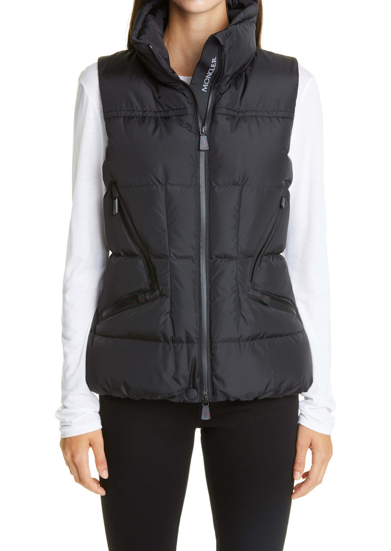 Moncler Grenoble Atka Water Resistant Down Puffer Vest