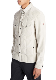 Moncler Grenoble Corduroy Shirt Jacket