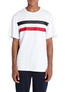 Moncler Mesh Stripe T-Shirt