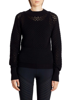 Moncler Openwork Cotton Sweater