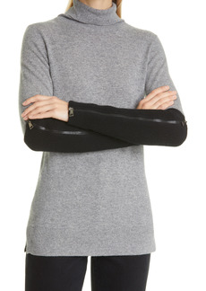 Moncler Zip Wool Blend Arm Warmers