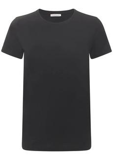 Moncler Side Logo Cotton Jersey T-shirt