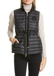 Women's Moncler Azur Lightweight Down Puffer Vest