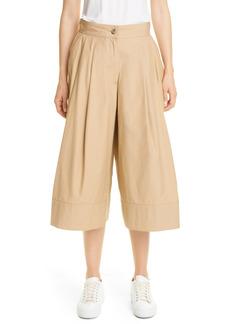 Women's Moncler Genius 1 Moncler Jw Anderson Pleated Cotton Culottes