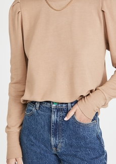 MONROW Supersoft Tuck Sleeve Sweatshirt