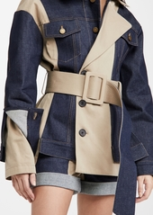 Monse Belted Trench and Denim Jacket