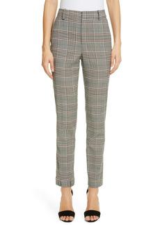 Monse Plaid Skinny Wool Blend Pants
