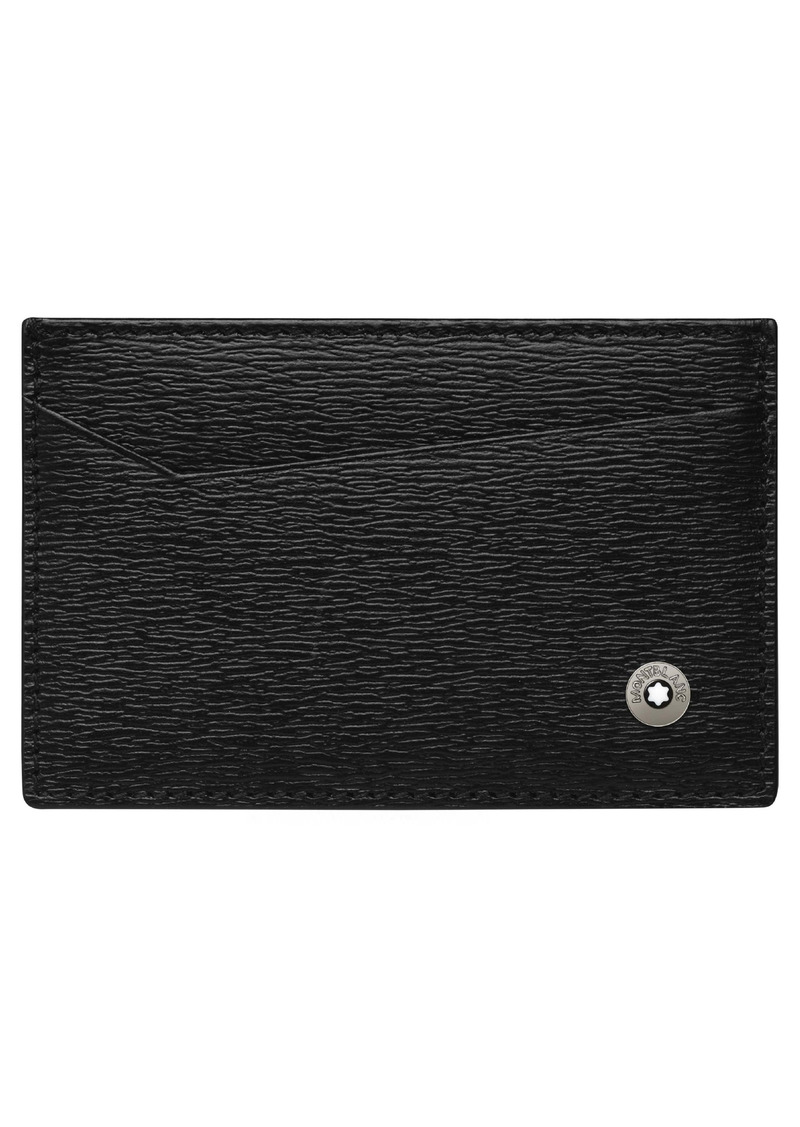 Montblanc 4810 Westside Leather Card Holder
