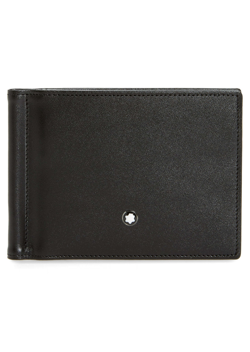 Montblanc Leather Money Clip Wallet