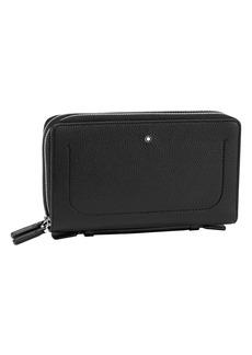 Montblanc Meisterstück Zip-Around Leather Travel Wallet