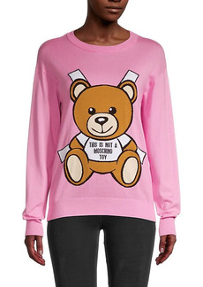 Moschino Bear Logo Sweatshirt