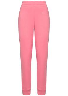 Moschino Couture Milano Logo Cotton Sweatpants