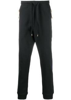 Moschino drawstring zip-pocket track pants
