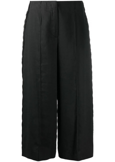 Moschino high-waisted culotte trousers