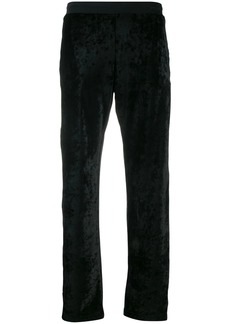 Moschino logo stripe track pants