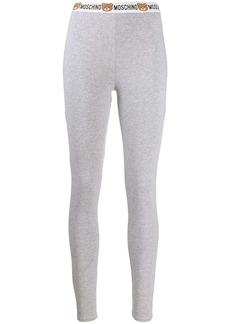 Moschino logo waistband track pants