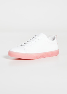 Moschino Classic Lace Up Sneakers