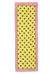 Moschino Dot Logo Silk Scarf