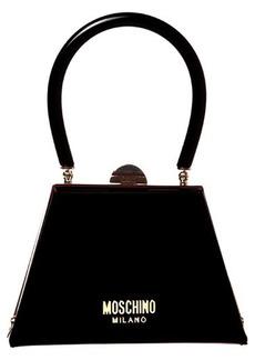 Moschino Leather Frame Bag