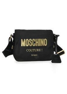 Moschino Logo Nylon Crossbody Bag