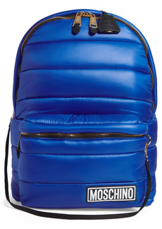 Moschino Puffer Backpack with Hood