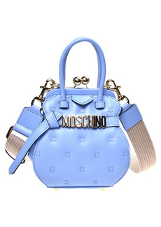 Moschino Quilted Letter Frame Bag