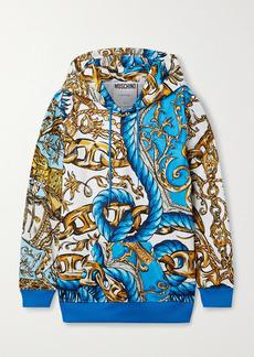 Moschino Printed Tech-jersey Hoodie