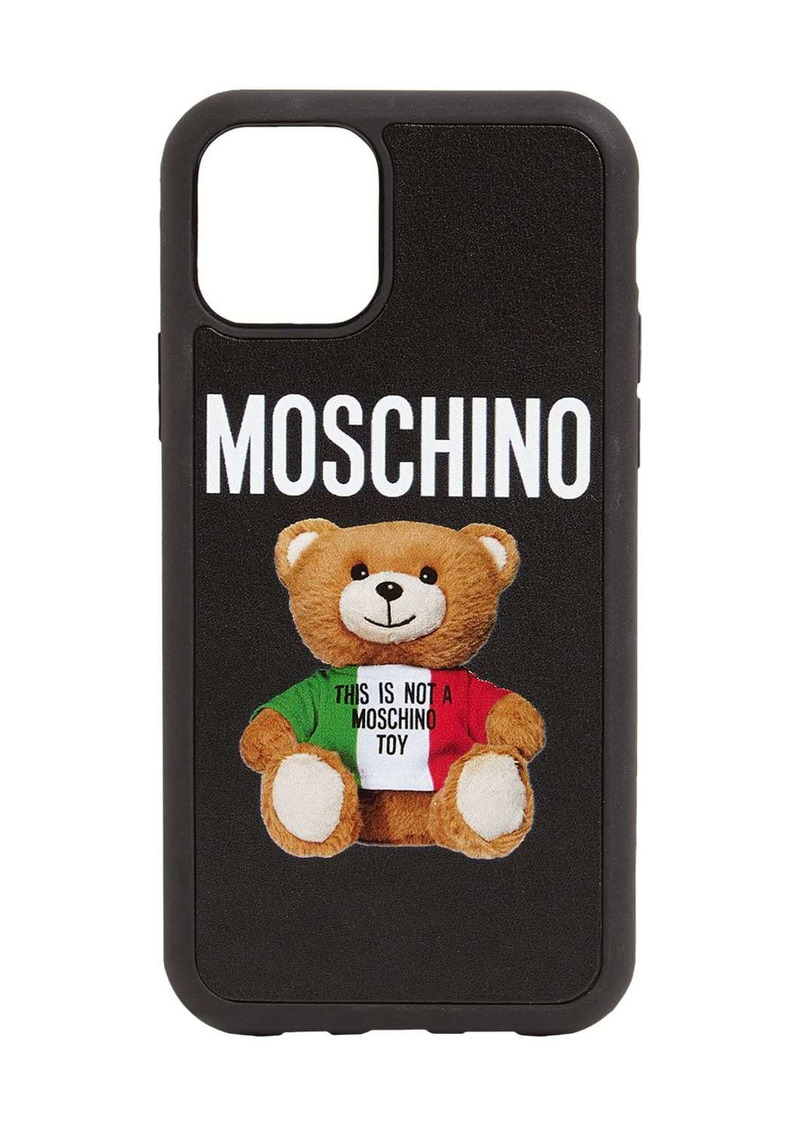 Moschino Teddy Logo Iphone 11 Pro Max Case