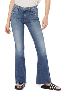 Mother Denim MOTHER Frayed Flare Jeans (Home Movies)